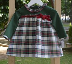 Vestido Escocés. Nueva Colección Otoño-invierno