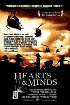 1974: Hearts and Minds-documentary about Vietnam War