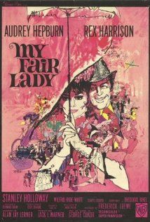 83 Damn Good Movies: 1964 My Fair Lady My Fair Lady God dammit, another musical? So you've definitely seen this movie before. I don't mean you've literally seen this movie, My Fair Lady, from. Film Movie, Film Musical, Film Music Books, Comedy Film, Movie Cast, Old Movies, Vintage Movies, Great Movies, Vintage Posters
