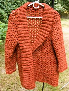 Country Car Coat by Smurf_Free Pattern - Looks a little bulky but could use finer gauge yarn.
