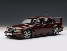 Silent Autos, the home of model cars brings you this Mercedes-Benz 190 E EVO 2 (Barolorot) Burgundy diecast model car by AUTOart in stock at the moment. We always have a large stock of car models at exceptitional prices in a range of colours. Mercedes Benz 190e, Mercedes Benz Models, Mercedes Benz Cars, Car Museum, Sports Sedan, Diecast Model Cars, Car Engine, Retro Cars, Evo