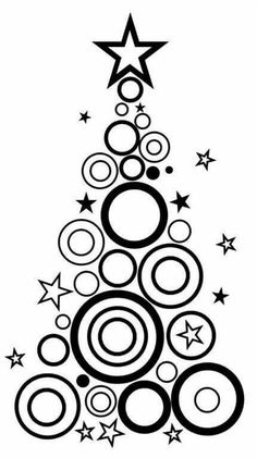 Christmas tree coloring page Christmas Doodles, Christmas Tree Cards, Christmas Drawing, Christmas Coloring Pages, Noel Christmas, Christmas Colors, Xmas Tree, Winter Christmas, Christmas Decorations