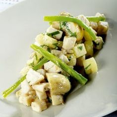 Chicken Breast with Green Beans, Pineapple and Mustard