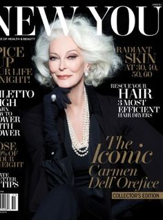 83-Year-old cover girl !!!