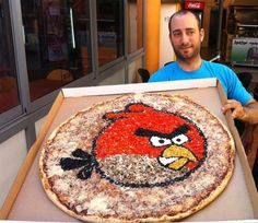 Angry Birds Pizza