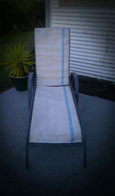 More then just a wool fadge...recycled chair