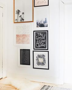 Love a good frame wall.