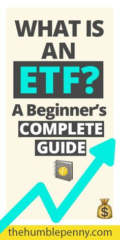 What is an ETF? A Beginner's Complete Guide for Investing Learn What is an ETF? as a Beginner Investor. Understand the advantages of Exchange Traded Funds (ETFs) and what you should look for to start your passive investing. Investing Apps, Investing For Retirement, Dividend Investing, Stock Market Investing, Investing In Stocks, Real Estate Investing, Silver Investing, Financial Literacy, Financial Tips