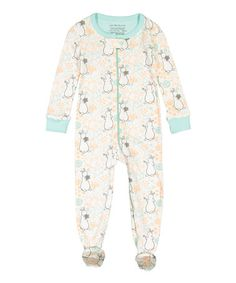This Beige & Light Blue Pat the Bunny Footie - Infant, Toddler & Girls is perfect! #zulilyfinds