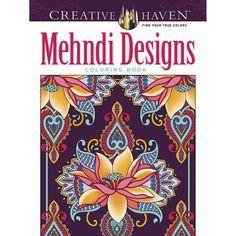 Mehndi Designs Coloring Book