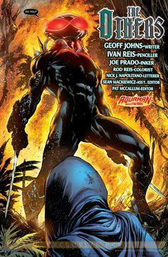 Black Manta by Ivan Reis (Aquaman 7)