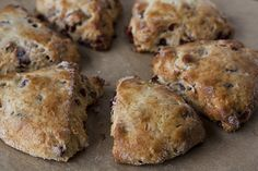Have not tried this, but how great does Eggnog & Cranberry Scones sound??