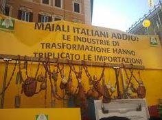 Prosegue la protesta di Coldiretti a difesa dei produttori agricoli e degli allevatori italiani