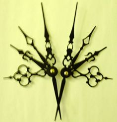 Dramiena Noir #Hair Pick Set #Steampunk Accessory by Antickquities,
