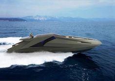 Lamborghini Concept Boat