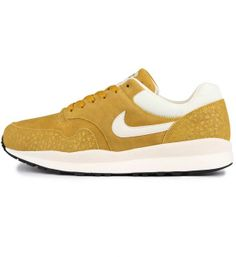 Nike Air Safari Leather Dark Citron   Sail   Black 7dad50d5e