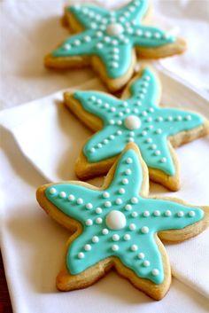 Starfish cookies @Beth Smegal Clarke