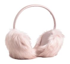 These pink fuzzy 'muffs will keep your ears warm without the annoying hat hair.  #refinery29 http://www.refinery29.com/hm-holiday-new-arrivals-wish-list#slide-2