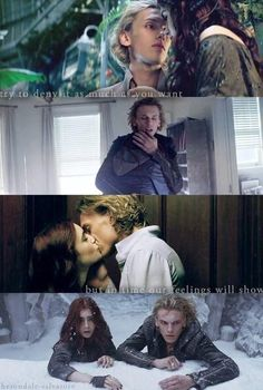 The Mortal Instruments: City of Bones Clary Fray and Jace Wayland‎