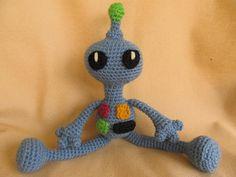 Remmy the Robot Crochet Amigurumi Pattern. $3.98, via Etsy.