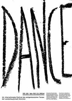 visual identity for dance festival, verena hennig & ludwig janoff