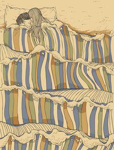 Chalermphol Harnchakkham –via Tristan Bowersox via siriah via illustration + graphic art