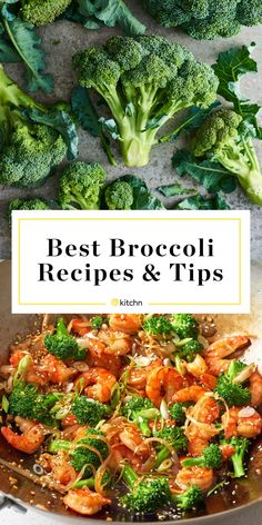 Our Best Guide to Broccoli Basics Best Broccoli Recipe, Broccoli Recipes, Vegetable Recipes, Vegetable Entrees, Delicious Dinner Recipes, Great Recipes, Healthy Recipes, Bitter Greens, Broccoli Nutrition