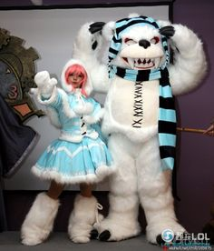 Frostfire Annie League of Legends Cosplay