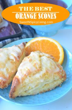 There is nothing better than a freshly baked scones for morning, this Orange Scone will surely make you look forward to breakfast. It is flaky, absolutely delicious and oozing withe fresh orange fl… Baking Scones, Bread Baking, Breakfast Recipes, Dessert Recipes, Breakfast Muffins, Scone Recipes, Dessert Bread, Mini Muffins, Muffin Recipes