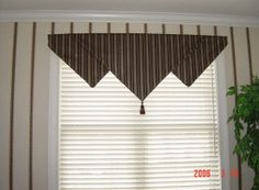Triangle valance view 2