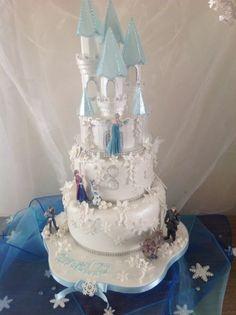 frozen cakes | My Frozen Castle Cake x