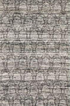 KAS Rugs Janvi 3029 Black Brocade Hand-Woven Viscose Jacquard Area Rug 8 x 10 Home Decor Rugs Rugs
