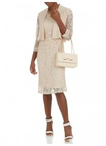 ELIGERE | Classic Dress Milk
