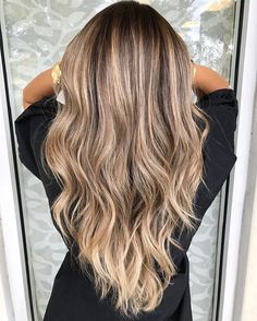 This is dream hair #Balayage Hair By Mallery