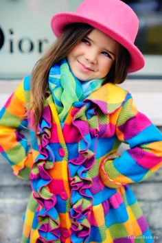 Beautiful colorful clothes !