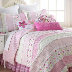 Marley Quilt Set, Pink