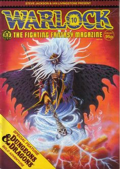 Warlock The Fighting Fantasy Magazine Issue 10.