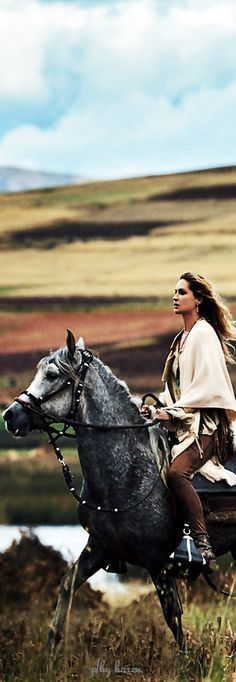 Diamond Cowgirl - Erin Wasson for Free People.                                                                                                                                                                                 More