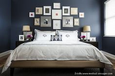 Dark Blue And White Bedroom Ideas White Bedroom Design in sizing 2000 X 1834 Dark Blue Bedroom Ideas - The entire furniture inside the room is white in color. Blue And Gold Bedroom, Blue Bedroom Paint, Dark Blue Bedrooms, Blue Master Bedroom, Navy Bedrooms, Dark Blue Walls, Blue Bedroom Decor, Woman Bedroom, Blue Rooms