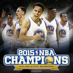 Golden State Warriors, 2015 NBA champions.