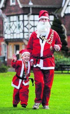 Santas needed for Vivary Park charity fun run (from 2012)