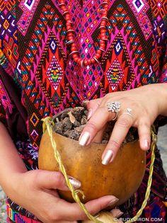 Colorful Mayan Huipil from Guatemala