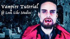 Vampire Makeup – Male Vampire