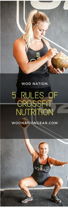 5 Rules of CrossFit Nutrition #crossfit