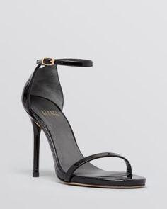 Stuart Weitzman Open Toe Evening Sandals - Nudist High Heel | Bloomingdales's