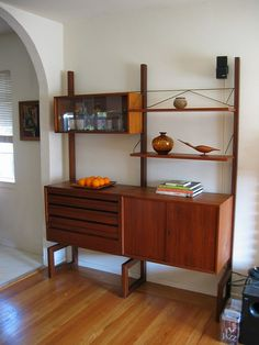Teak Wall Unit | Danish Modern