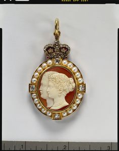 Order of Victoria & Albert - Badge of the third class. Probably presented to Charlotte, Duchess of Buccleuch, or to Frances, Duchess of Marlborough (Cameo ; Ronca, 1879 ; Mount 1880)