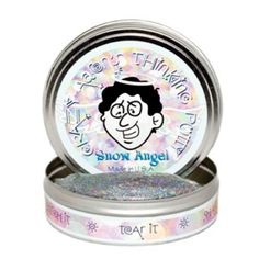 Crazy Aaron's Limited Edition Snow Angel Thinking Putty