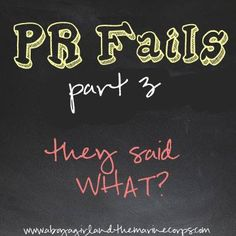 PR Fails Part 3- A Boy, A Girl, and the Marine Corps -- Actual PR fails that have landed in my inbox