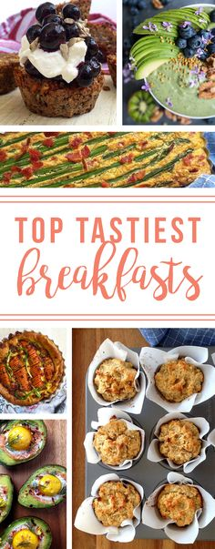 A great collection of the best and tastiest Paleo & Whole 30 breakfast recipes!